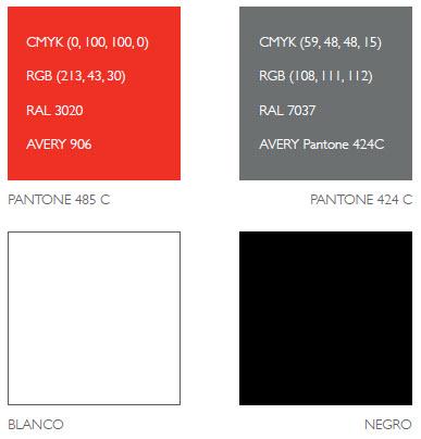 Pantone 485 c ral 3020
